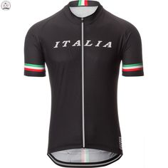 2017 cycling jersey Black Mountain Bike Ciclismo Men's short Professional wear team ITALIA customization Tights New style
