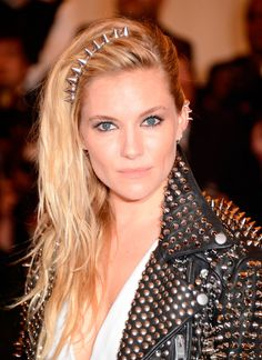 Sienna Miller looking dangerous and gorgeous than ever! #punk