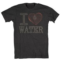 Cool T-shirt...supposedly for every product they sell they provide clean water to a family in Africa for a year.