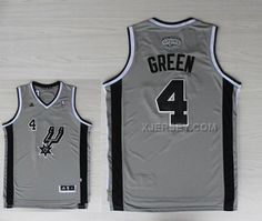 http://www.xjersey.com/spurs-4-green-grey-new-revolution-30-jerseys.html SPURS 4 GREEN GREY NEW REVOLUTION 30 JERSEYS Only 32.17€ , Free Shipping!