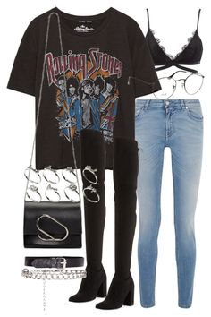 """""""Untitled #2373"""" by mariie00h ❤ liked on Polyvore featuring Givenchy, Charlotte Russe, Stuart Weitzman, Ray-Ban, 3.1 Phillip Lim and ASOS"""