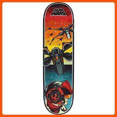 "Santa Cruz Skateboards Star Wars Episode VII Poe Dameron Skateboard Deck - 8.375"" x 32"" - For all the skaters (*Amazon Partner-Link)"
