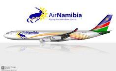 Air Namibia A340