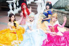 Disney Princess by mizukimochizuki.deviantart.com