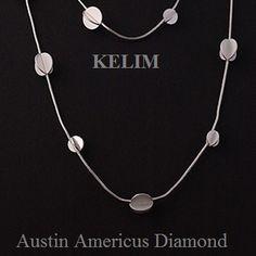 Sterling Silver necklace  at Austin Americus Diamond.   www.austindiamond.com