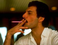 Smoking didn't affect Freddie's voice but don't try that at home.