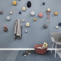 Varjo Teppich 200 x 300cm - blau - Muuto, Material: 100% Wolle aus Neuseeland. Maße: 200 x 300cm, 799!