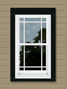 1000 images about exterior on pinterest black trim for Who makes the best vinyl windows