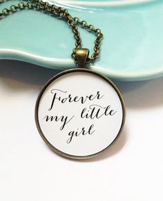 Daughter Wedding Day Gift from Dad Bride Gift Forever My by MinMac
