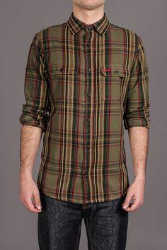 Nuco Foreman Y/D Brushed Plaid Shirt