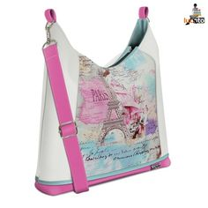 Bagbi Paris white and pink