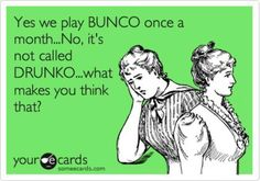 Bunco! L.O.L. Had a great time at bunco tonight the only time I get away any more, good friend and great time,  drink of the night went with cherry jack and  coke sounded good so went with it....mmmm