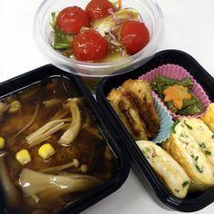 豆腐ハンバーグのきのこあんかけ 2015/11/09