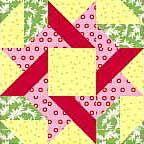 Frolic Variation Quilt Block