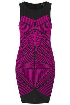 Ribbon Bodycon Dress - Sale  - Sale & Offers  - Topshop