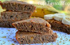 Quinoa Banana Nut Quick Bread Bars @Terra