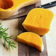 How to cook a whole butternut squash the easy way in the crock pot — without cutting it up first.   Cook Eat Paleo