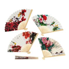 Oriental Fan Assortment - OrientalTrading.com