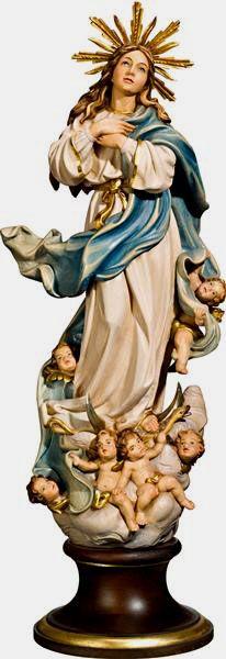 Citta Cattolica: Statue: Madonne in Legno