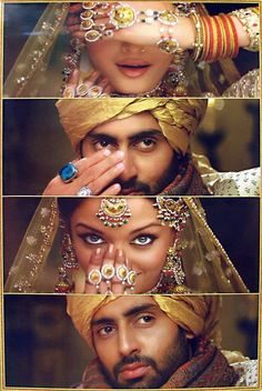 Aishwarya Rai and Abishek Bachan in Umrao Jaan