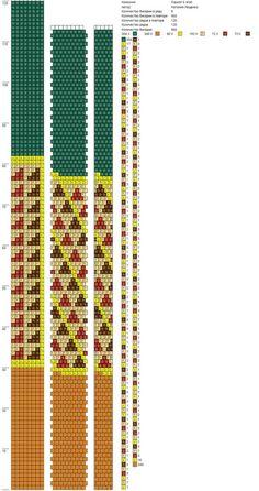 8 around tubular bead crochet rope pattern Loom Bracelet Patterns, Bead Loom Bracelets, Beaded Jewelry Patterns, Beading Patterns, Bead Crochet Patterns, Bead Crochet Rope, Crochet Bracelet, Beaded Crochet, Bead Jewellery