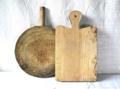 French antique Wooden Cutting Board - french kitchen - bread board or chopping board on Etsy, $125.00