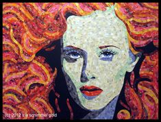 Call it Paper Mosaic, call it Recycle Art, call it Mixed Media, call it Papier Collé... it's Fine Art by Sandhi Schimmel Gold