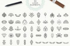 Mandala Collection Elements] by Julia Dreams on Creative Market Mandala Tattoo – Top Fashion Tattoos Henna Tattoos, Kritzelei Tattoo, Neue Tattoos, Tattoo Forearm, Finger Tattoo Designs, Finger Tattoos, Simple Finger Tattoo, Finger Henna, Mandala Tattoo Design
