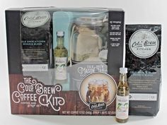 The Cold Brew Coffee Kit Coffee & Syrup Set + BONUS Coffee and Syrup!