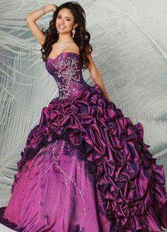 Purple outfit. .fuchsia