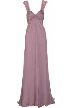 I love the color of this dress.