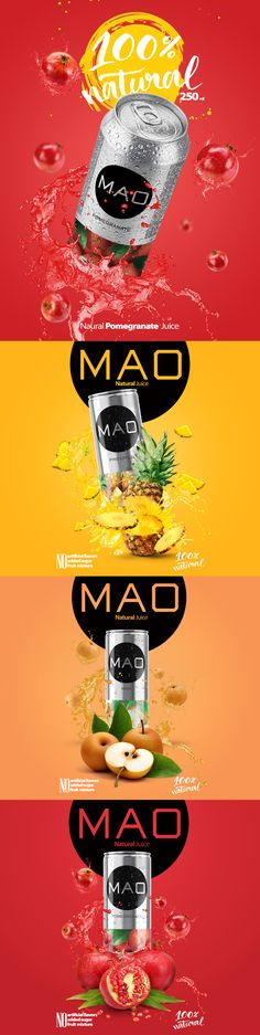 """Check out this @Behance project: """"MAO juice"""" https://www.behance.net/gallery/44792911/MAO-juice"""