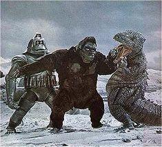 King Kong vs gorisoris and meca kong