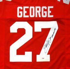 Eddie George Autographed Ohio State Buckeyes Jersey