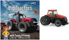 """#Giveaway: Win the book """"Big Tractors with Casey & Friends"""" & CASE IH toy tractor (Ends 6/1)"""