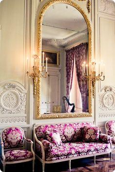 interior of marie antoinette's petit trianon