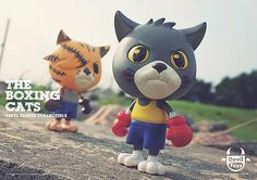 The Boxing Cats by devil toys 3