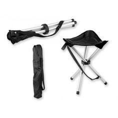 Stoel TRAMPER Opvouwbare polyester 3-poots stoel met metalen constructie, maximaal gewicht 100 kg. Je vouwt de stoel makkelijk bij elkaar. We adviseren om dit artikel te bedrukken in Transfer print in een formaat van maximaal 140x15 mm. We kunnen dit artikel in 10 kleur(en) bedrukken.