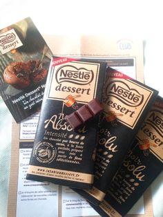 Chocolat Noir Absolu Nestlé Dessert® : Club Ambassadeurs  Croquons la Vie Club, Chocolate, Drinks, Desserts, Food, Drinking, Tailgate Desserts, Beverages, Deserts