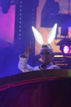 White Rabbit DJ Michael Paul.