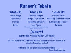 tabata for runners - Google Search