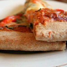 Amazing Whole Wheat Pizza Crust