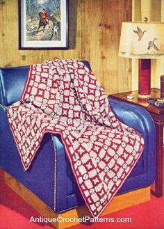 Crochet Afghan - Tally Ho Afghan