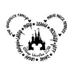 Family Disney Shirts- 2016 Disney Vacation by MyPurpleGiraffeShop on Etsy https://www.etsy.com/listing/455400802/family-disney-shirts-2016-disney