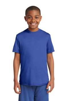 7aacb068c3a Sport-Tek Casual Wear on sale at Full Source! Order the Sport-Tek Youth  Competitor Tee - Silver online or call