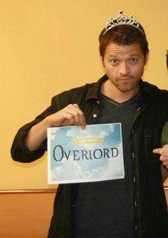 I should probably have a board solely dedicated to the supreme awesomeness of Misha and his shenanigans!