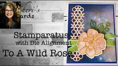 To A Wild Rose: Stamparatus with Stamps & Dies Set Up, Perennial Essence DSP, 2 Step Stamps Card Tutorials, Video Tutorials, Card Making Tips, Stampin Up Catalog, Craft Storage, Stamping Up, Perennials, Thank You Cards, Cardmaking