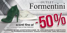 Continuano a Febbraio i SALDI da Formentini Outlet! Tutto a -50%!!!