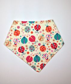 Baby bib-Bandana cotton bibTerry Cloth by lakesidecreations1