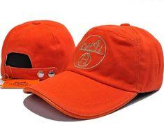 5a5e426b218 Discount Hermes Logo Embroideries Baseball Caps Orange on sale